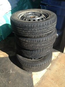 toyota yaris all season tires & rims