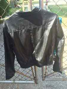 Ci Sono by Cavalini -Faux Leather Motorcycle Jacket Windsor Region Ontario image 4