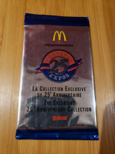 6 paquets de cartes McDo des 1993'