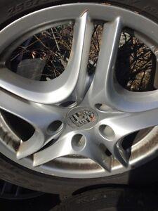 4 Porsche rims/tires
