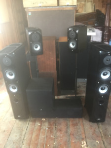 Sinclair surround sound speaker system