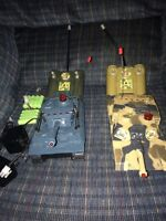 Remote controlled battle tanks