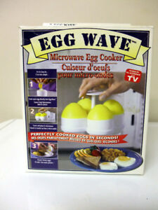 Tristar 4 Egg Wave Microwave Egg Cookers as seen on TV