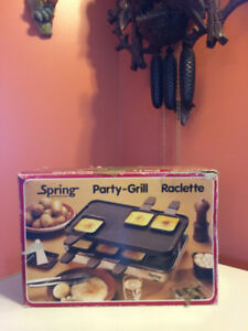Party-Grill Raclette, New in Box