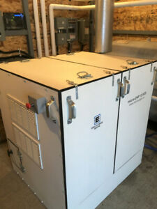 Heat and Power from one unit microCHP (Combined Heat & Power)
