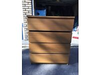 Ikea MALT chest of drawers