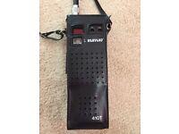 Vintage CB Radio Harvard 410T with Case