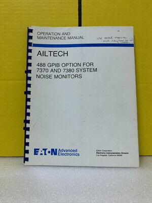Eaton Ailtech 488 Gpib For 73707380 System Noise Monitors Operationmaintenance