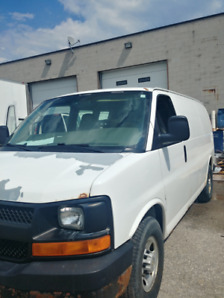 2007 chevy express 3500 carpet cleaning van