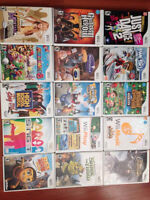 Wii and 16 GAMES