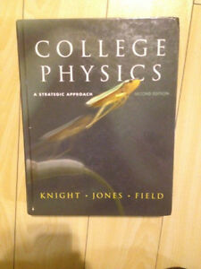 College Physics a strategic approach by Knight, Jones, Field