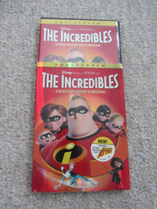 "Disney & Pixar's ""The Incredibles"" on DVD - 2 Disc Collector's"