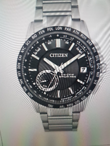 Montre pour homme Citizen GPS Satellite Wave-World Time
