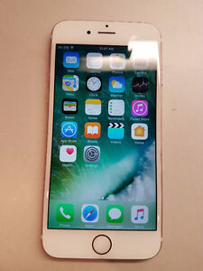 Rogers iPhone 6S 16gb Rose Gold, Excellent Condition