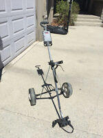 Foldable Pull Along Golf Cart - Excellent Condition!