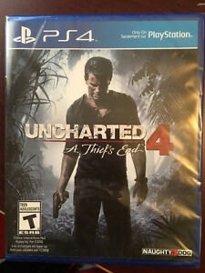 New PS4 Uncharted 4 games for sale
