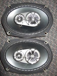 """Kicker ES 6 x 9"""" Speakers"""