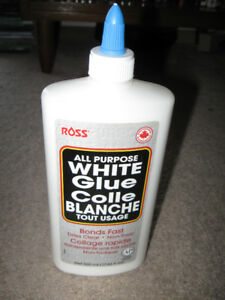 New Tube of Ross All Purpose White Glue + more-Lot $5