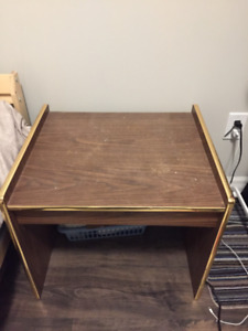 End Table- Brown