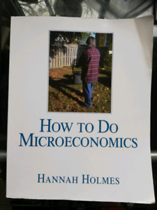 How to do Microeconomics - Hannah Holmes