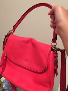 Kate Spade Red Leather Handbag
