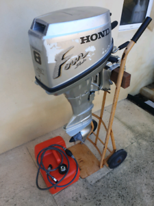 Outboard 8hp 4stroke Honda Sorrento Joondalup Area Preview