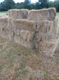Hay bales off the field