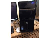 Hp core i3 cpu 3.30 Ghz with 4 GB Ram and 1 tb hard monitor keyboard mouse all