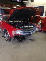 Looking for a 1970-1972 chevelle parts car