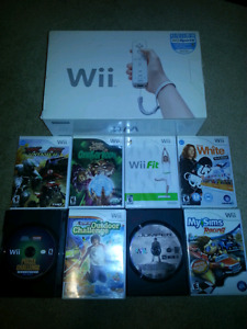Nintendo Wii Complete with games