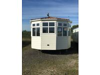 Static Caravan For Sale- Cosalt Moderna- Size 38x12- Double Glazed+ Central Heating- 2 Bedrooms