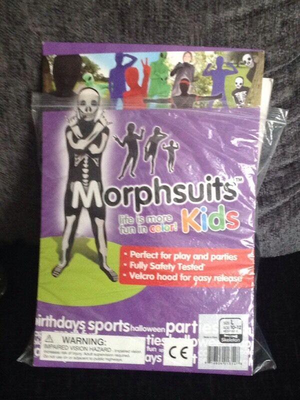Kids morph suit