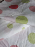 Twin size girly sheet set dots and more dots