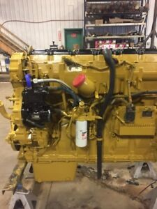 Rebuilt CAT 15 Accert Twin Turbo Engine