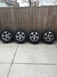 225/65R17 Ford Rims & Tires