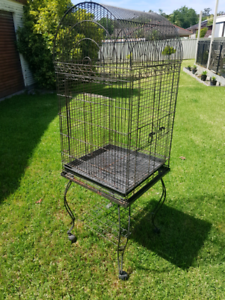 Large Bird cage on stand