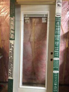 New Exterior Door With Built-In Blinds