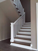 Hardwood stairs installation affordable price