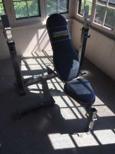 Deluxe Powetec Olympic Workout Bench