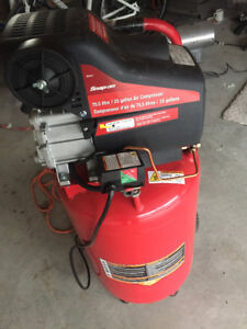 SNAP ON AIR COMPRESSOR 20 GALLON