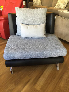 Comfy fabric chair