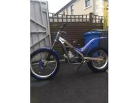 2002 sherco 290 trials bike mint.
