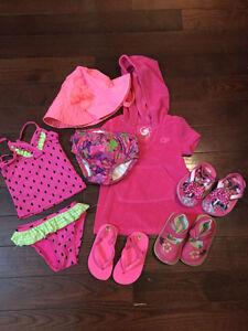 Swimwear & Shoes -  Girl 12 to 24 mths