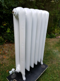 Original cast iron radiator