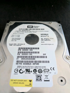 WD HDD 320go