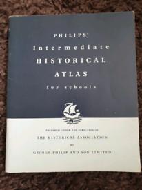 Philips Intermediate Historical Atlas for schools