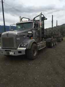 Kenworth tri-drive with 2005 superior b train