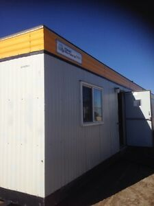 12'x60' skidded modular office TRAILERS for RENT and SALE