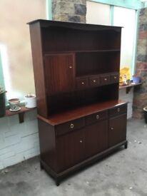 Stag Minstrel Dresser, Sideboard & Bookcase