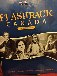 Canadian History Textbook